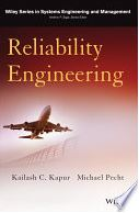 Image of book cover: Reliability Engineering, by Kailash Kapur and Michael Pecht