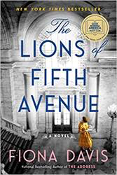 "Cover of Fiona Davis's book ""The Lions of Fifth Avenue"""