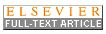 Button for Full Text article from Elsevier