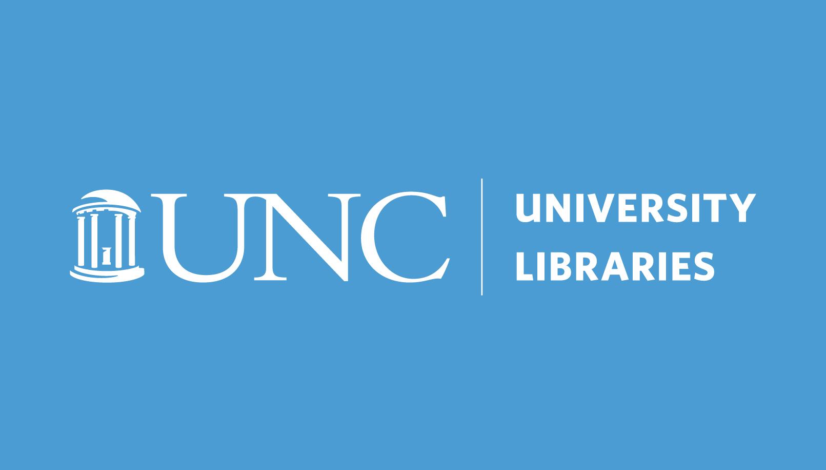 The University of North Carolina University Libraries Logo