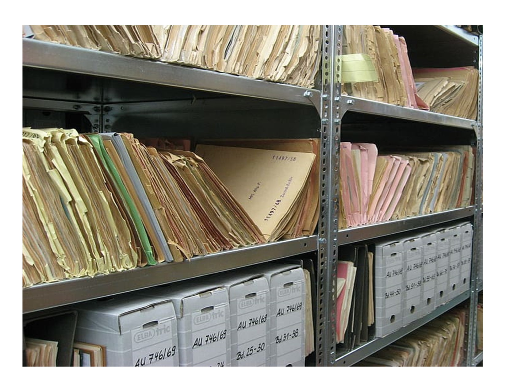 Archive folders and boxes