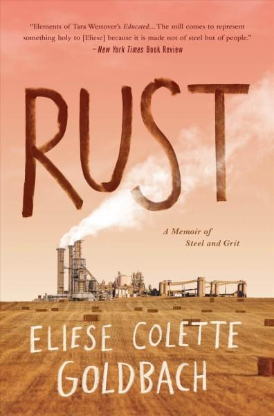 Rust-a memoir book jacket