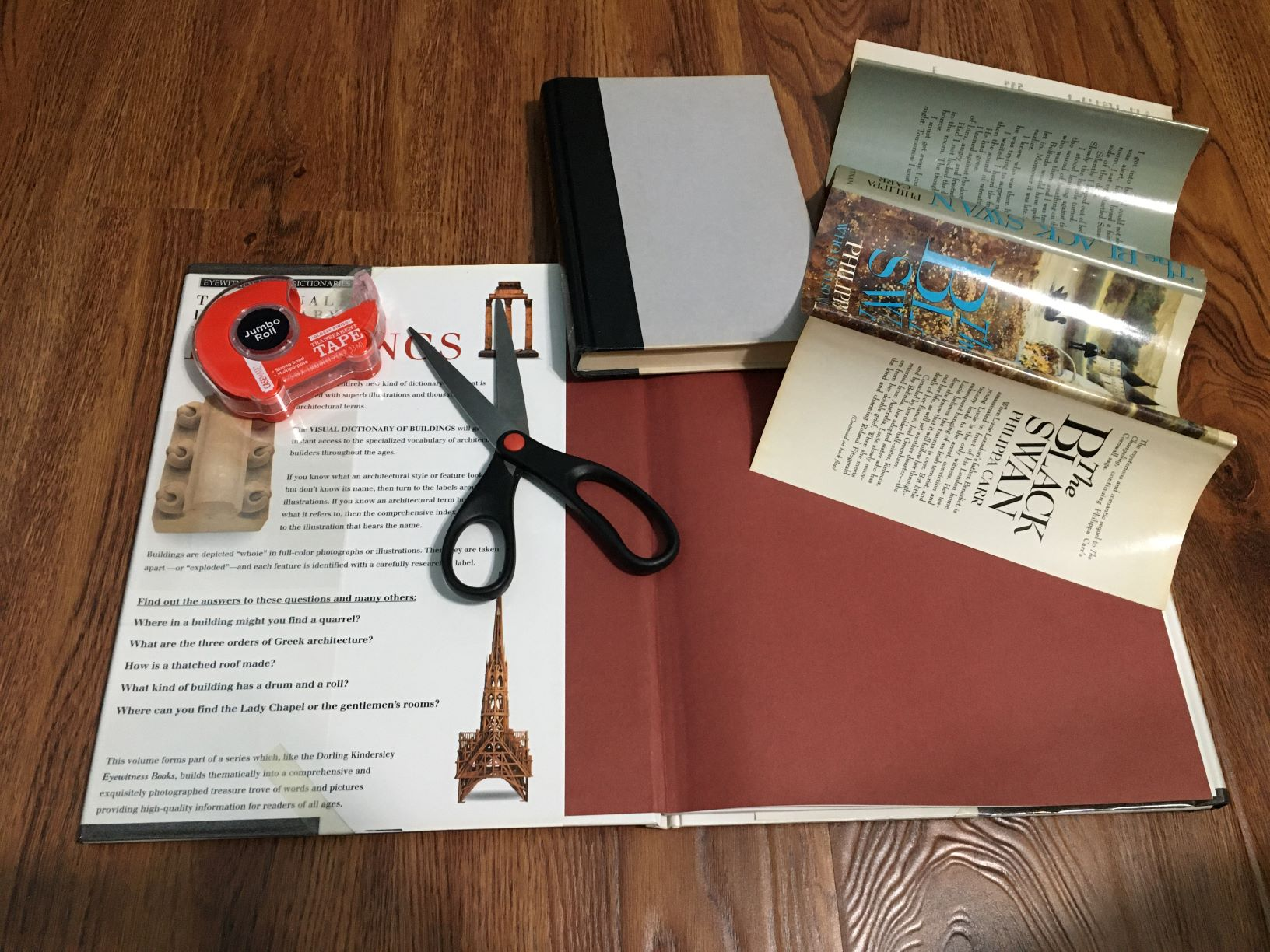 Covering Library Book
