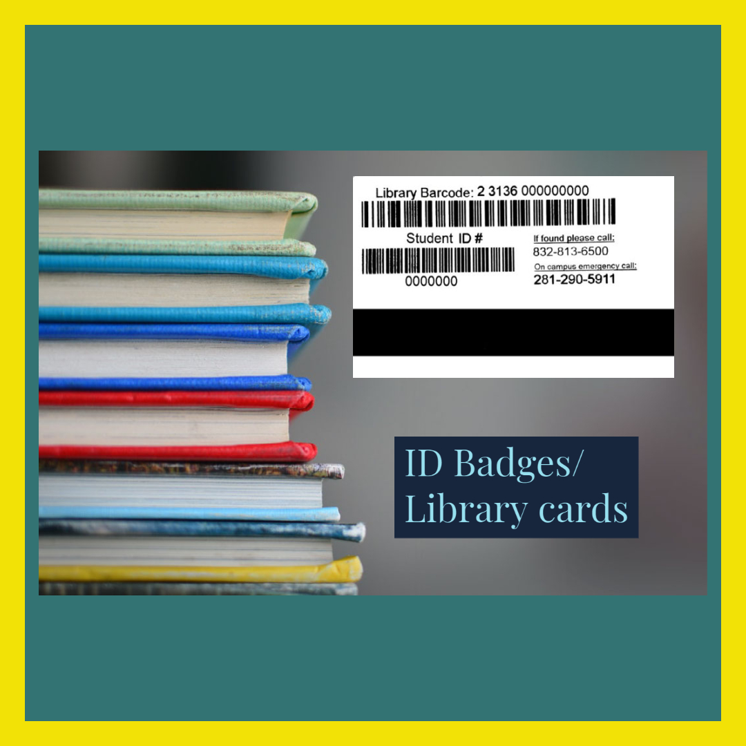ID Badges Library Card pic