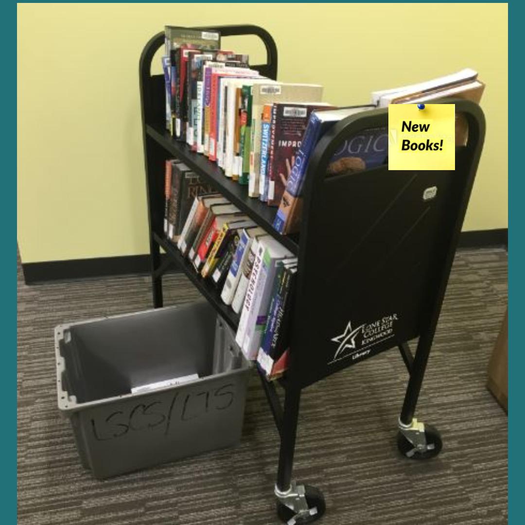 New Books Cart