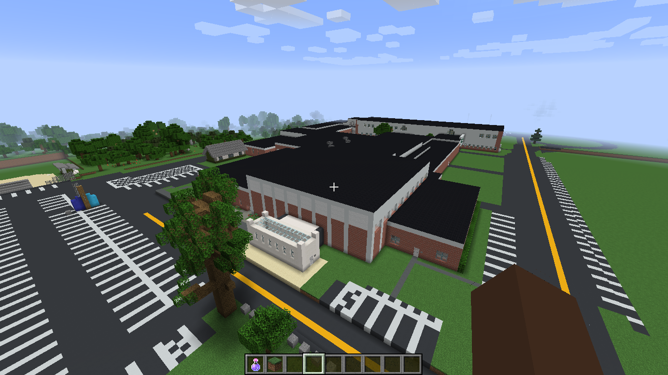 Front of Minecraft MDIHS