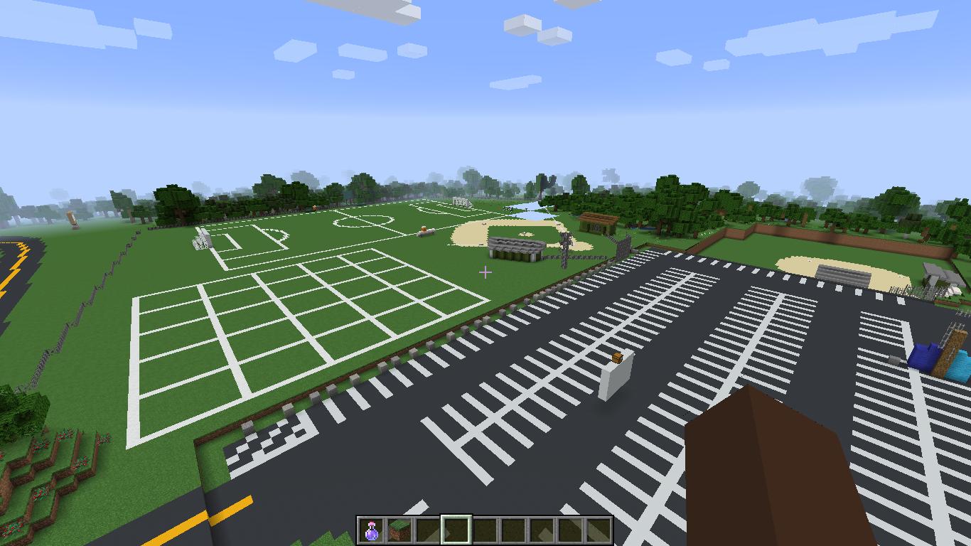 Minecraft Fields at MDIHS