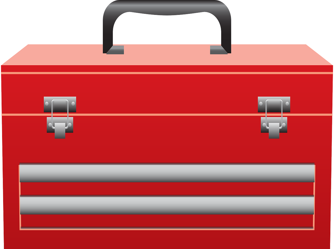 Graphic of a red toolbox