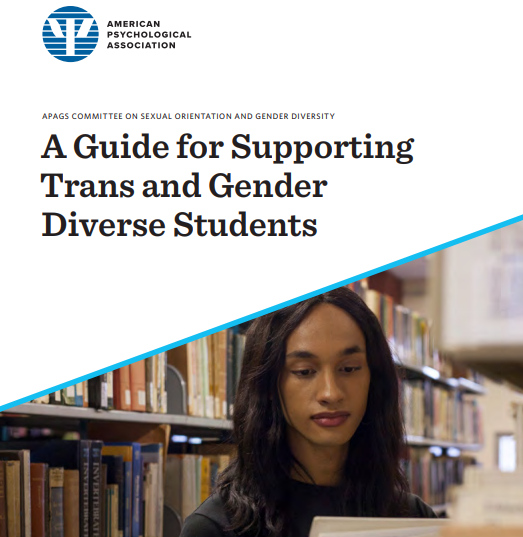 Support for Trans and Gender Diverse Students