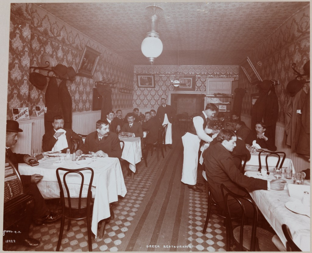 Greek Restaurant.1904