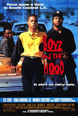 boyz in the hood movie poster