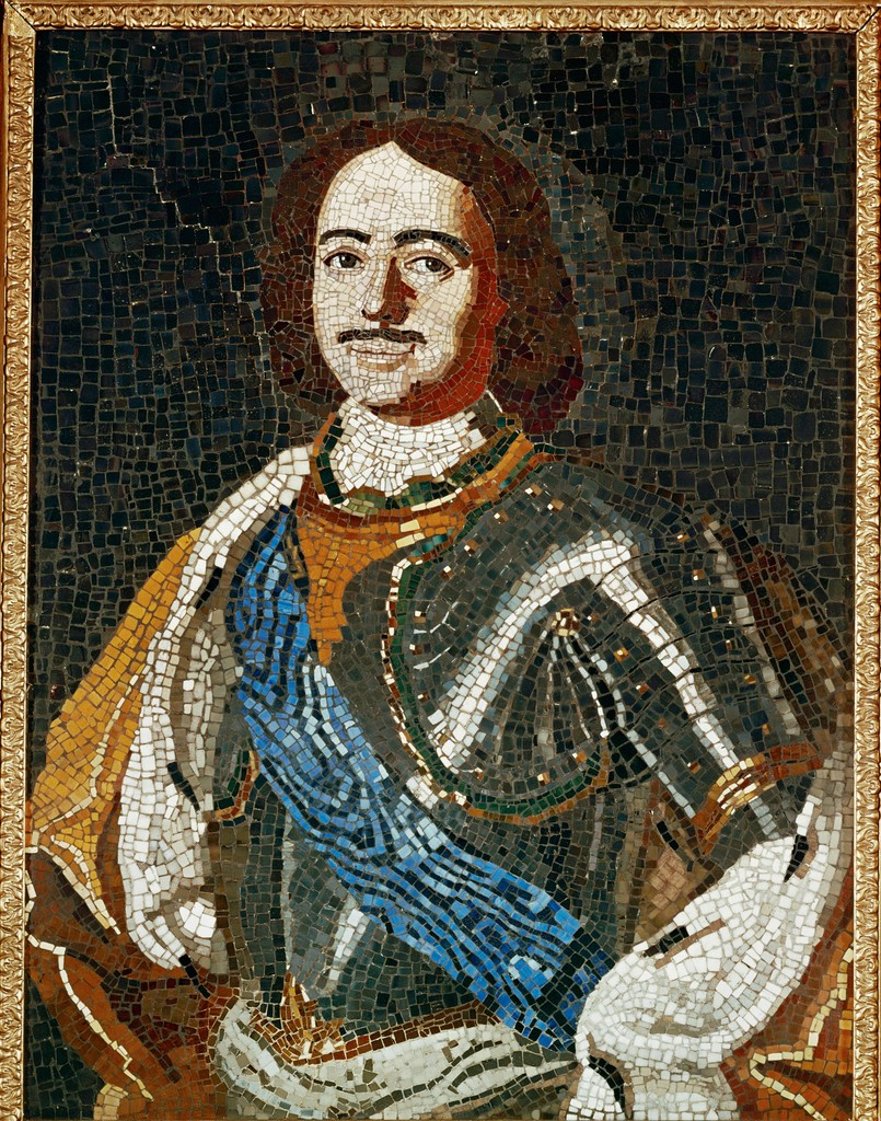 Mosaic Portrait of Peter the Great