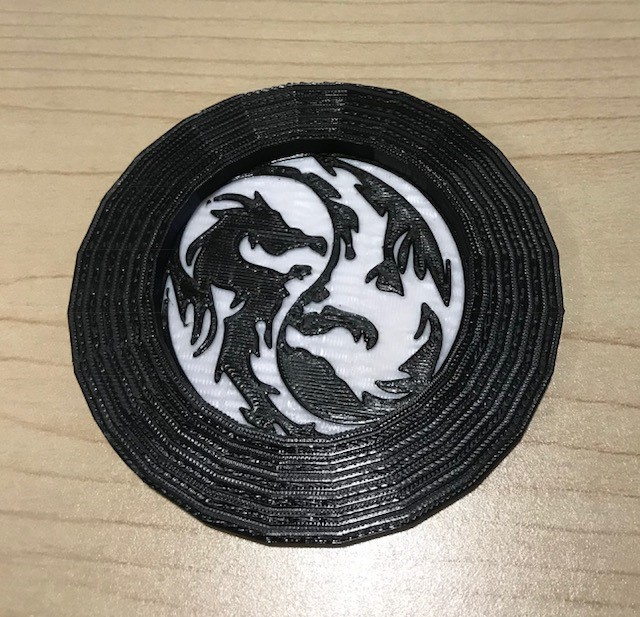 Family Beginning Tinkercad: Drink Coaster