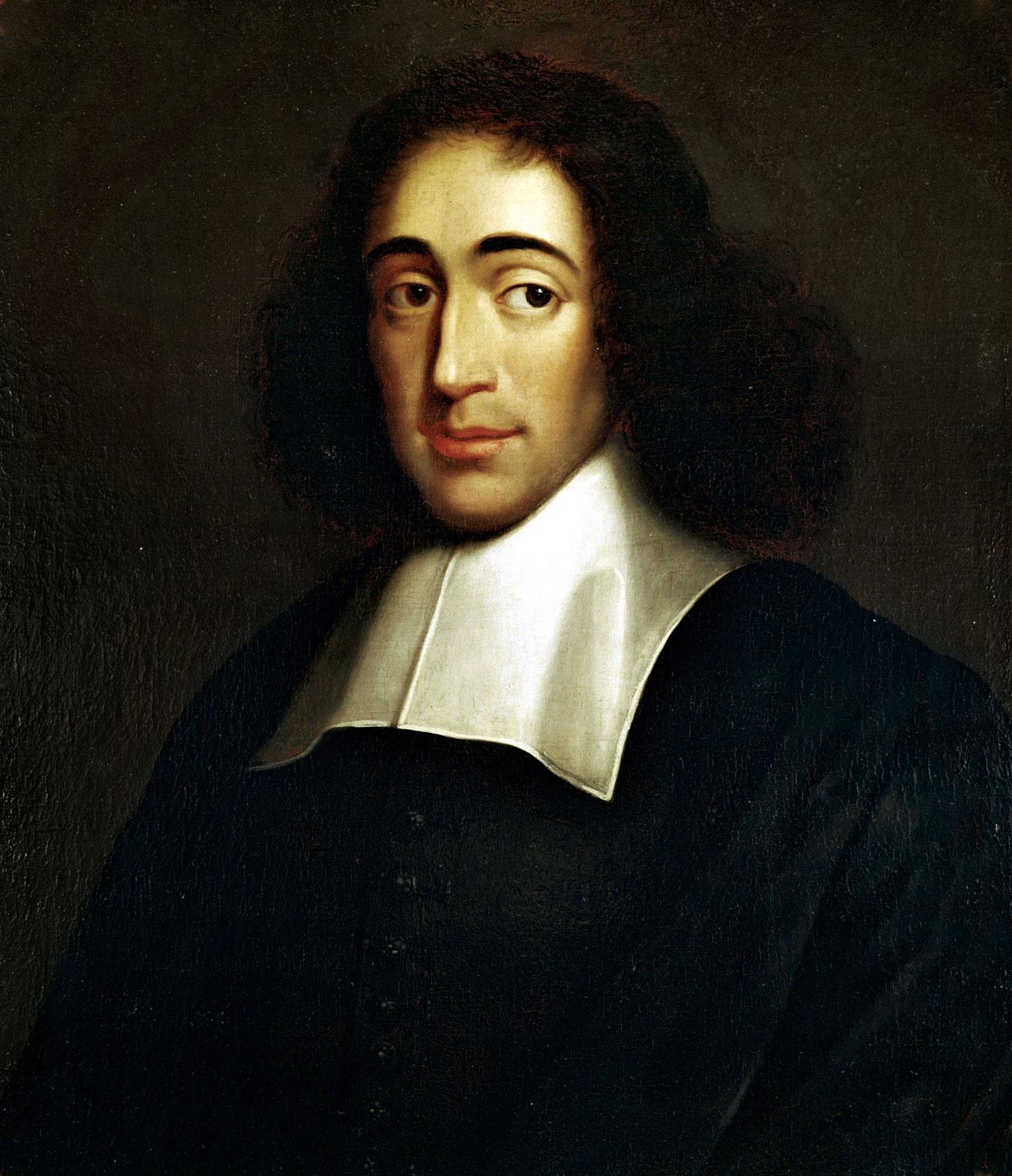 Portrait of Baruch Spinoza