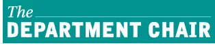 Department Chair text logo image