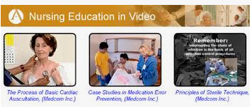 Nursing in Education Video logo image