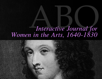 ABO: Interactive Journal for Women in the Arts, 1640-1830