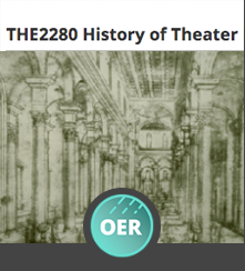CUNY CityTech OpenLab | THE 2280 History of Theater