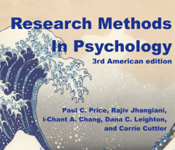 Research Methods in Psychology: 3rd American Edition