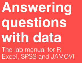 Answering questions with data: Lab Manual