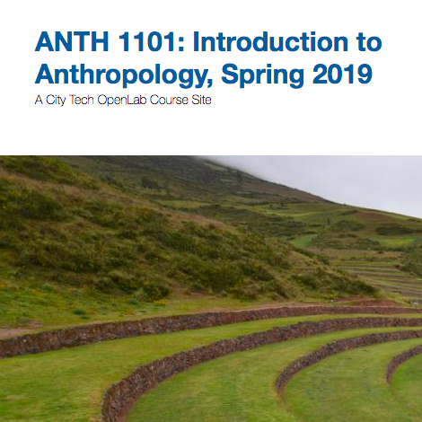 CUNY CityTech OpenLab | ANTH 1101: Introduction to Anthropology