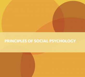 Principles of Social Psychology