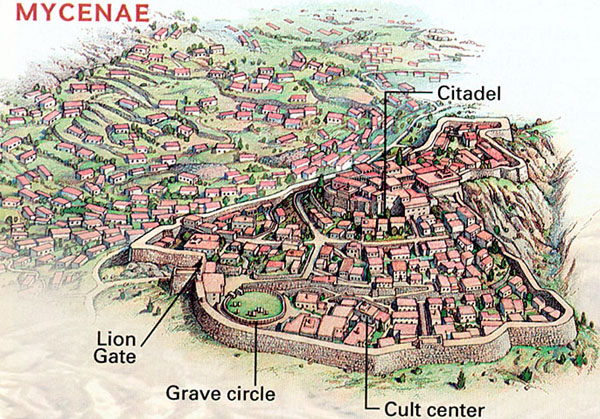 Mycenae Artists Depiction