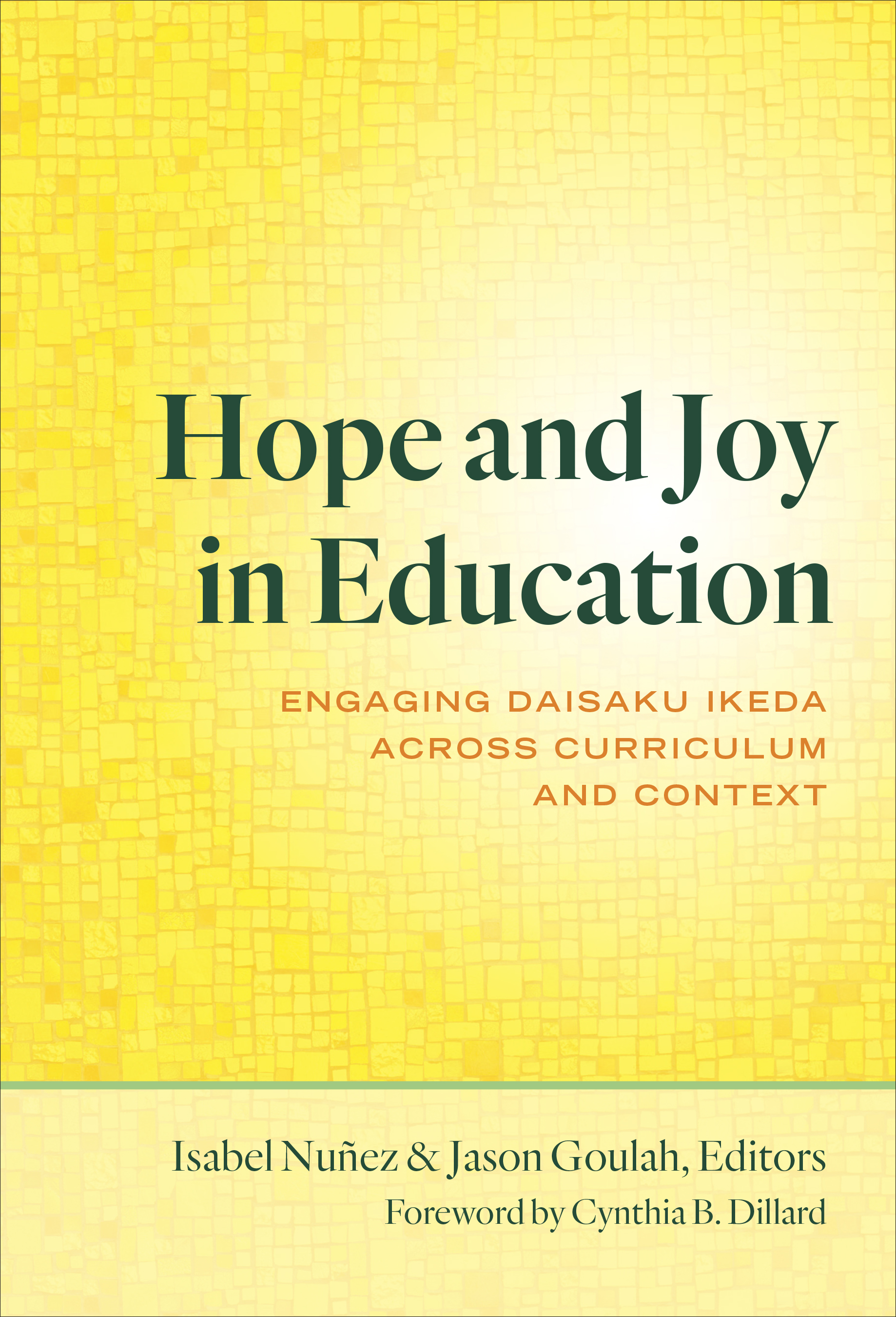 Hope and Joy in Education book cover image