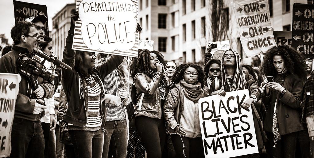 Black Lives Matter protest - Flickr.com