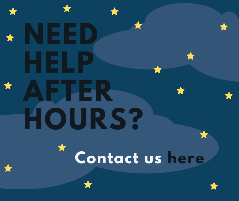 Image with link to contact library after hours