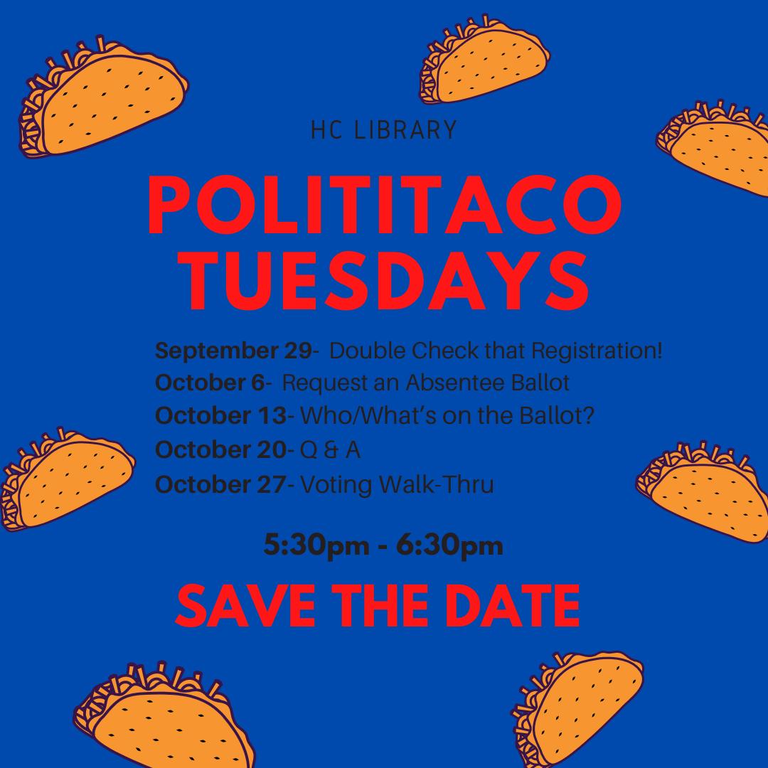 PolitiTaco Tuesday flyer
