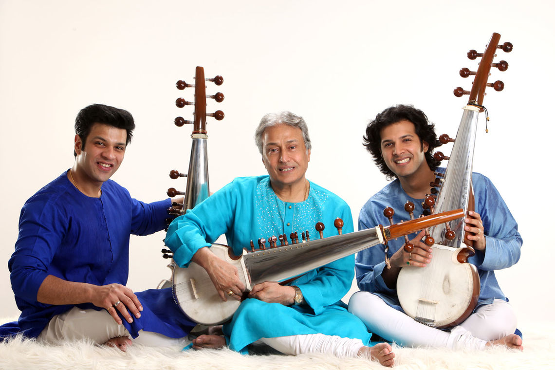 Sarod Trilogy players