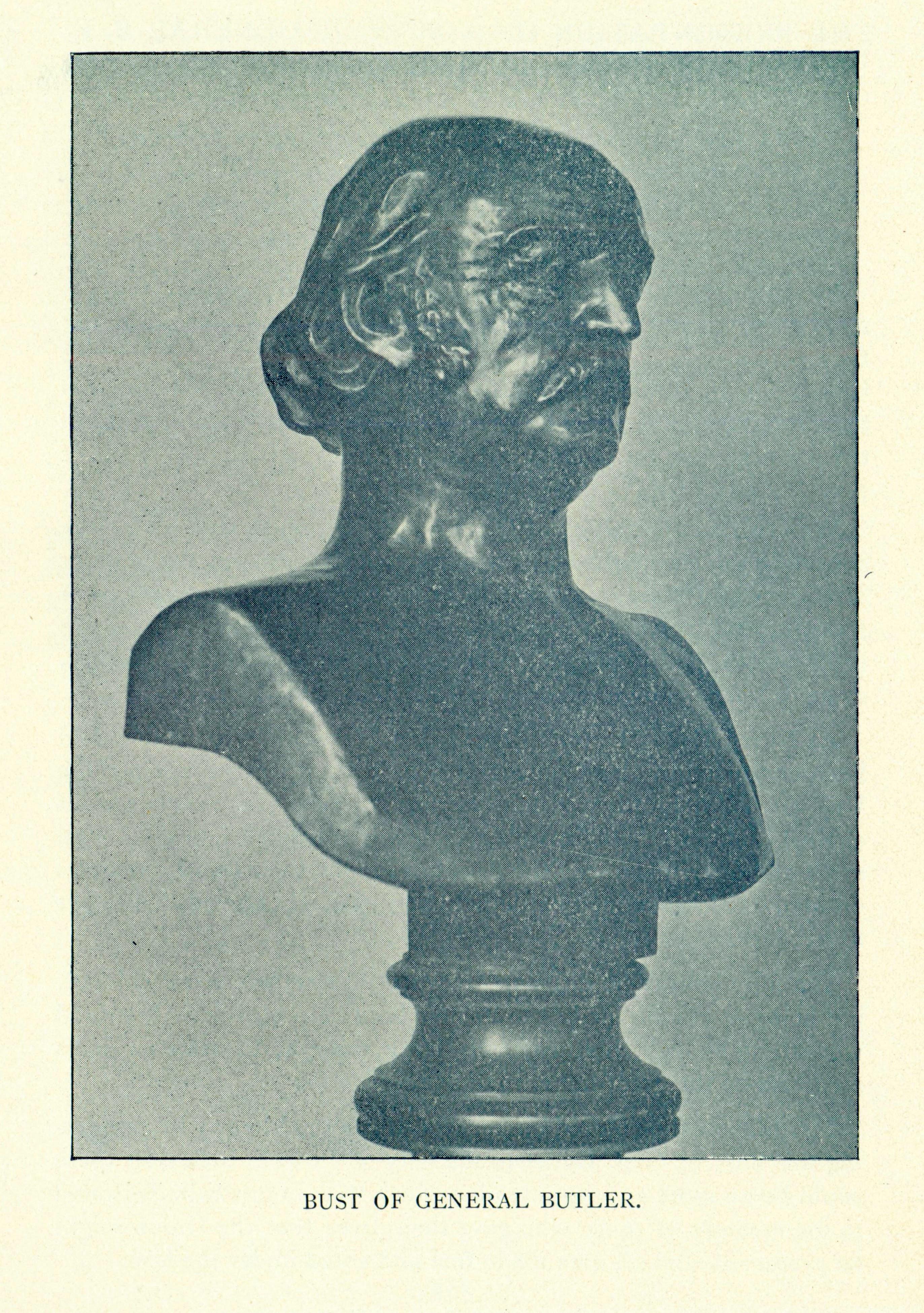 Bust of Ben Butler