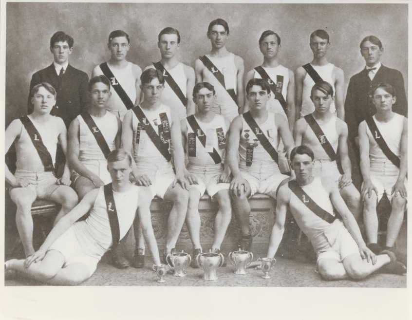 early american sports team