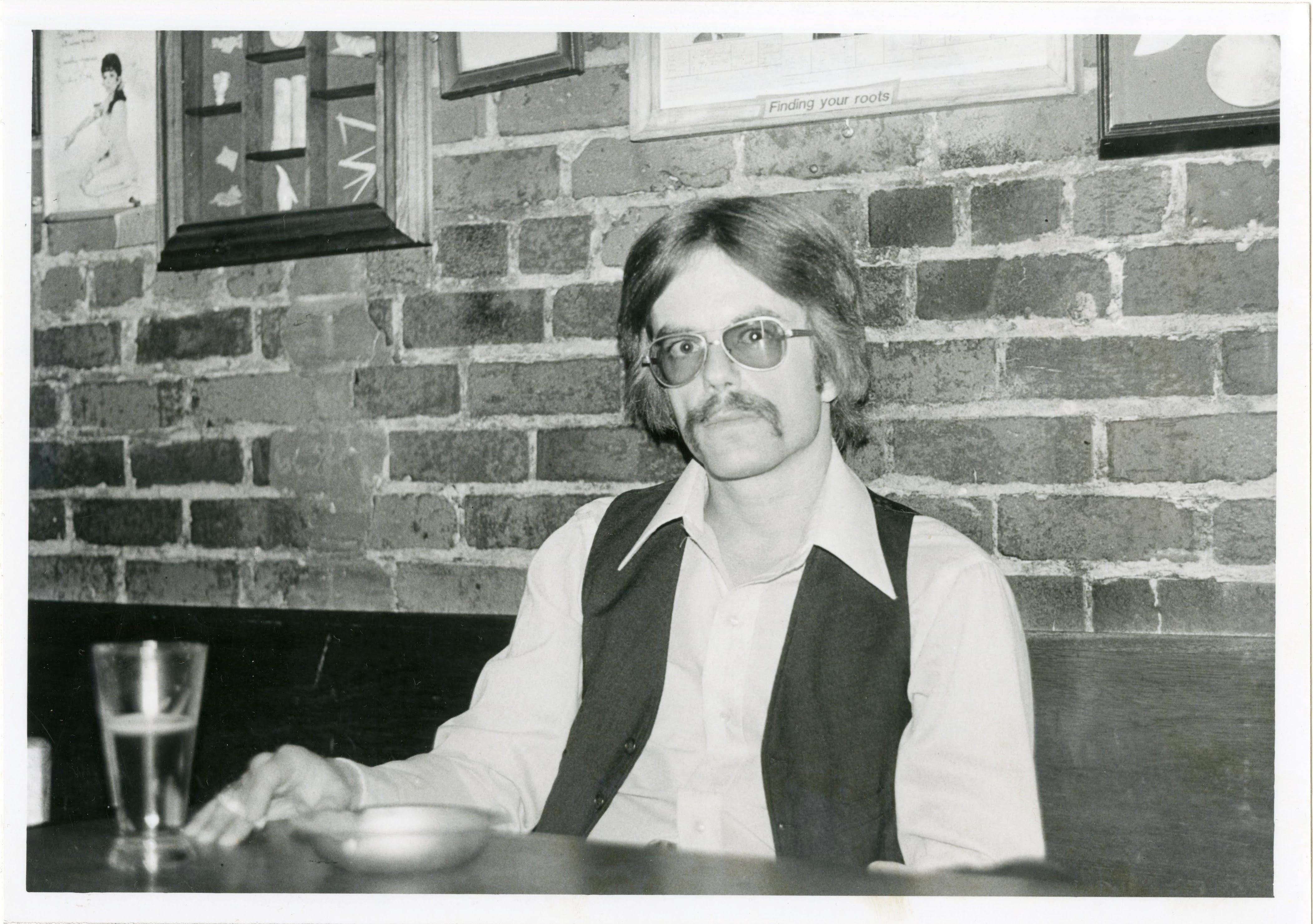 portrait of Dennis McNally circa 1977
