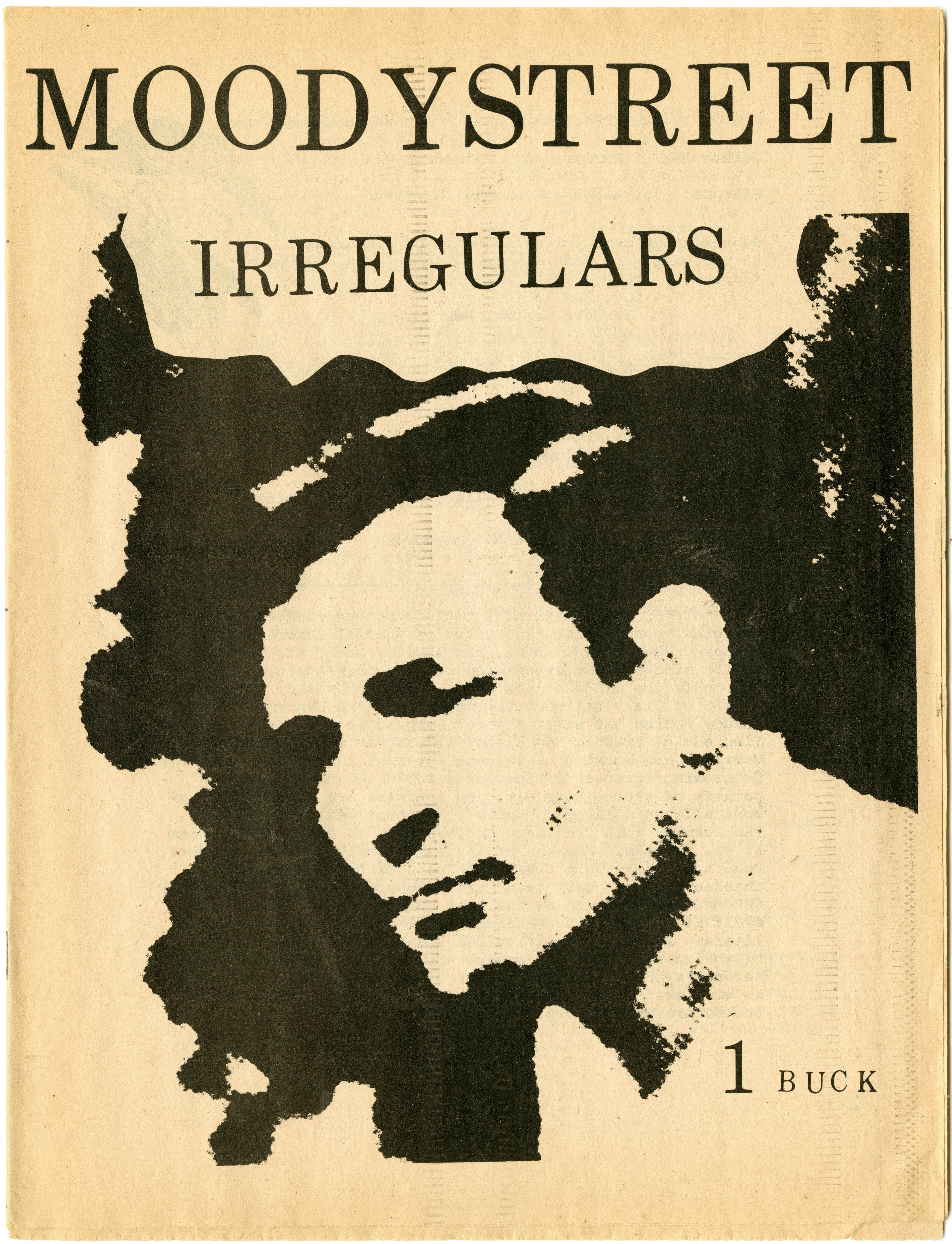cover of Moody Street Irregulars a magazine devoted to Kerouac and the Beats