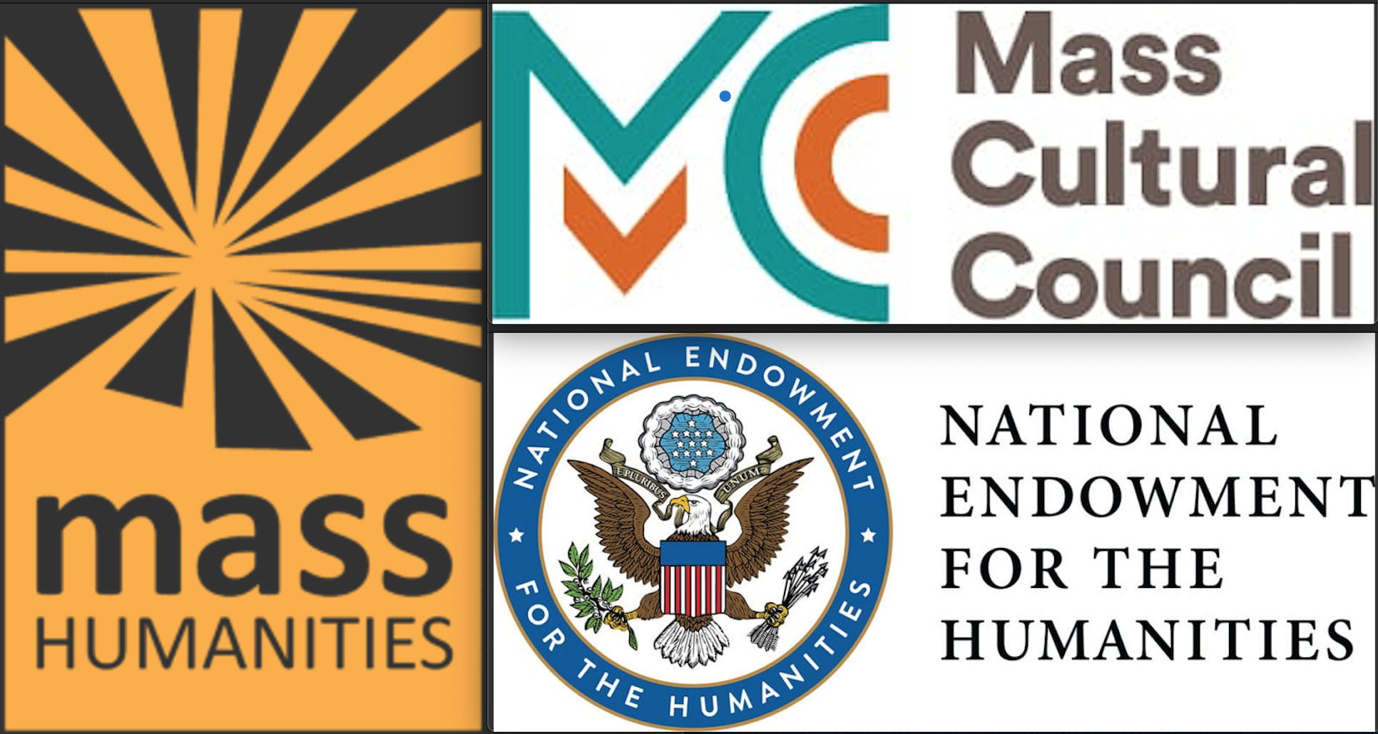Logos Mass Humanities, National Endowment for the Humanities, Mass Cultural Council