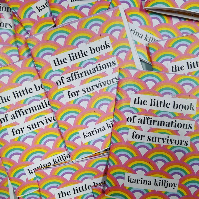 The Little Book of Affirmations for Survivors zine