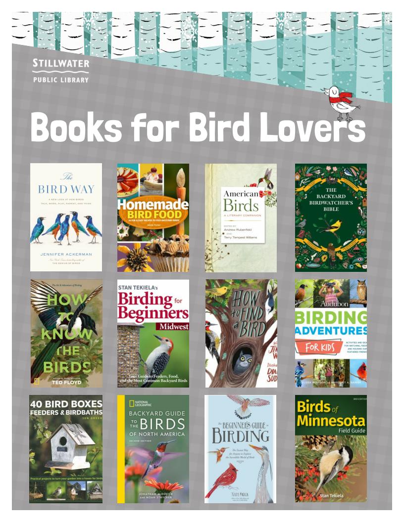 Books for Bird Lovers
