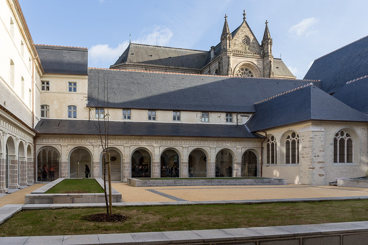 Photograph of monastery in France
