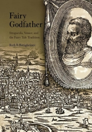 Image shows cover from book with an illustration of Straparola