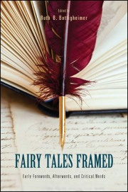 Image of the cover of the book shows a red feather on top of the title