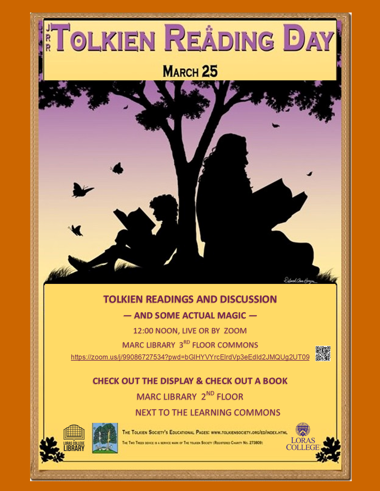 Tolkien reading day poster