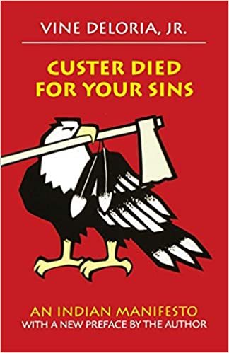 Custer Died for your Sins book cover