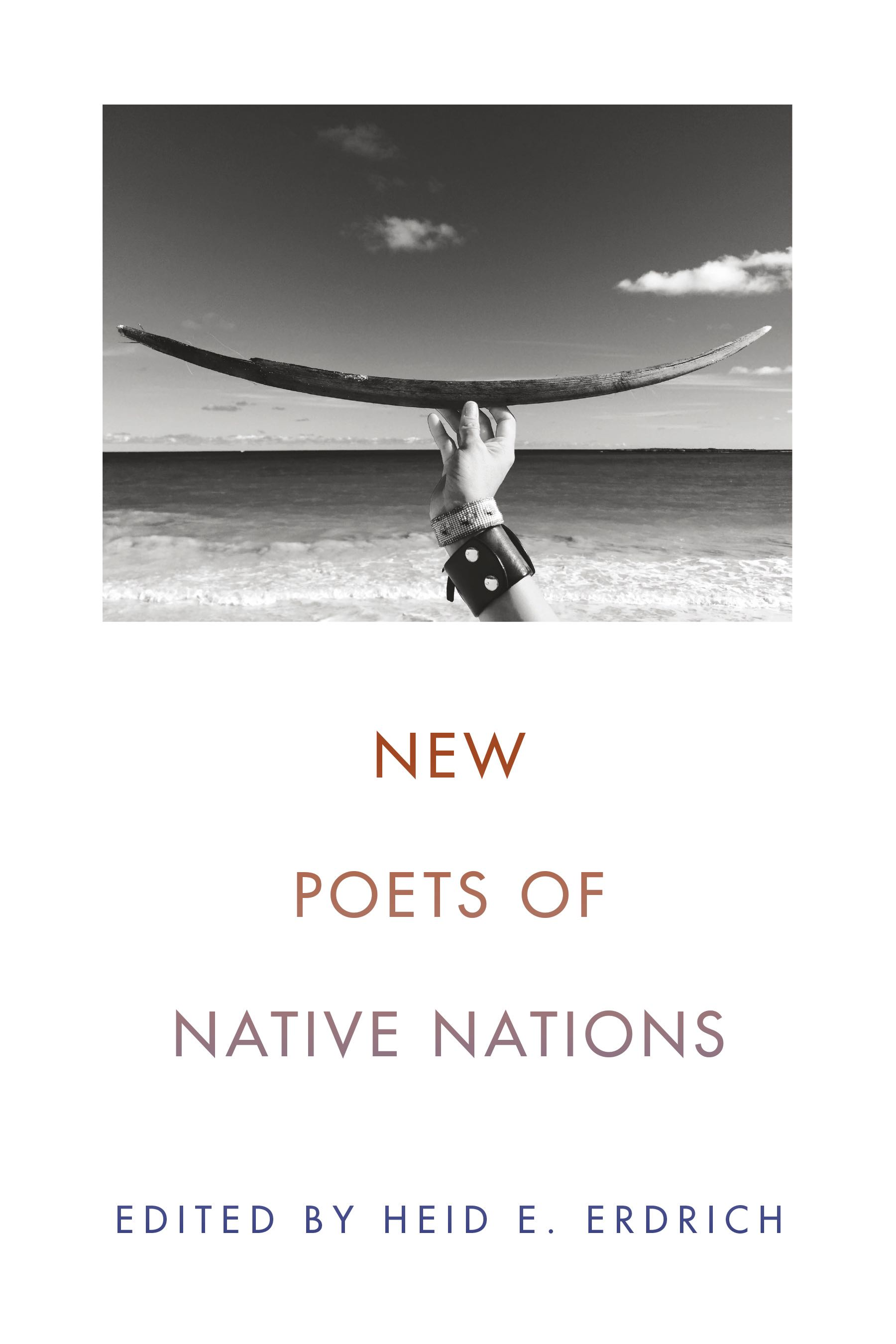 New poets of Native nations book cover