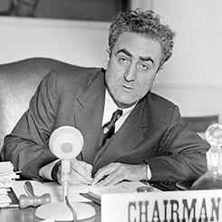 Dr. Charles Malik of Lebanon
