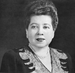 Minerva Bernardino of Dominican Republic
