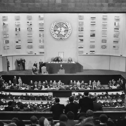 photo of UN chambers