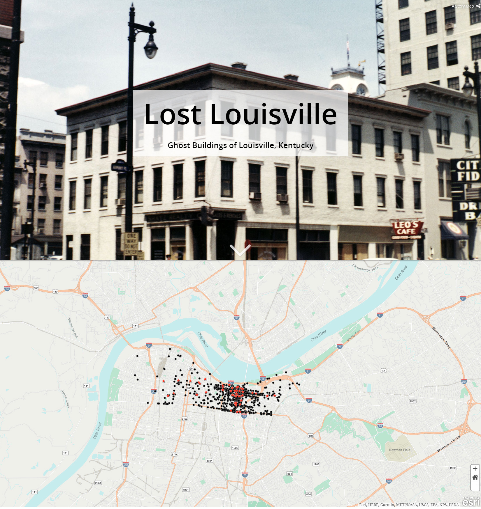 Lost Louisville home page