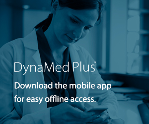 DynaMed Plus mobile app promotion image